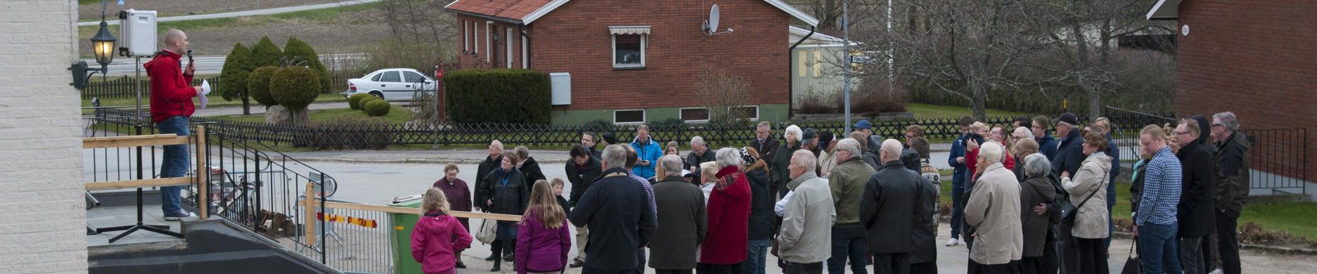 Invigning i Baptistkyrkan