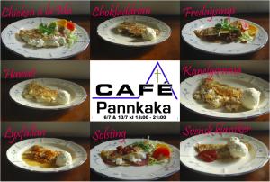 Cafe Pannkaka kvadrar